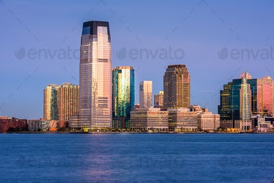 Exchange Place, New Jersey, USA