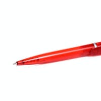 red pen at white