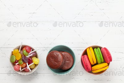 Various sweets assortment