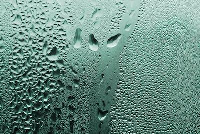 green water drop texture