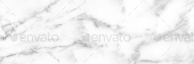 White Carrara Marble texture background or pattern surface.