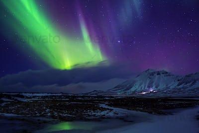 Iceland. Northern lights