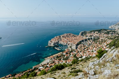 Dubrovnik summer view