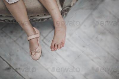 Baby girl legs