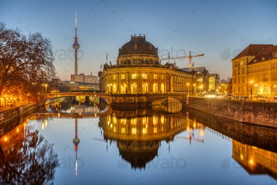 The Bode Museum and the Television Tower