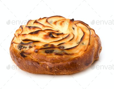 Delicious sweet cream bun
