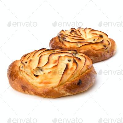 Delicious sweet cream buns