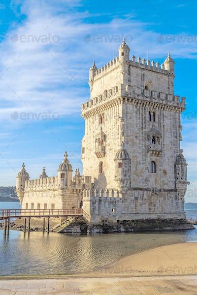 Tower of Belem, Lisbon, Portugal.