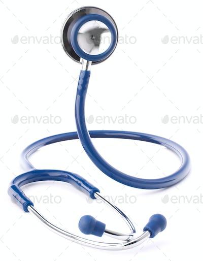 Medical stethoscope or phonendoscope