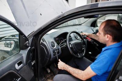 Car repair and maintenance theme