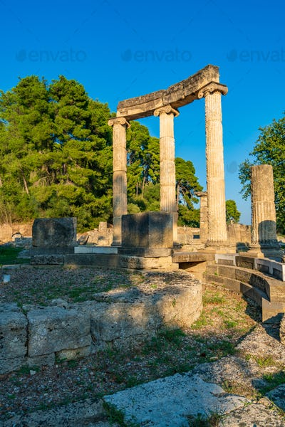 The anciant Olympia in Greece