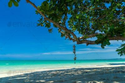 White sand beach in Khao Lak