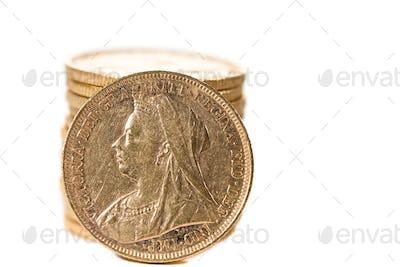 Queen Victoria g coins