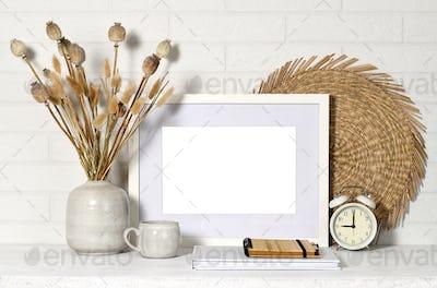 Mock up picture frame