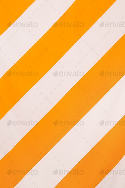 Striped minimal textile background. Trends Color of the year concept.  Yellow positive vibes
