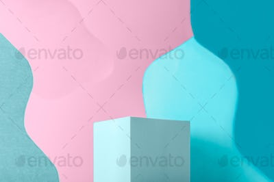 Curved background image