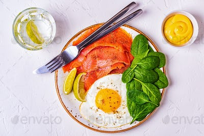 Ketogenic diet food, healthy meal concept.