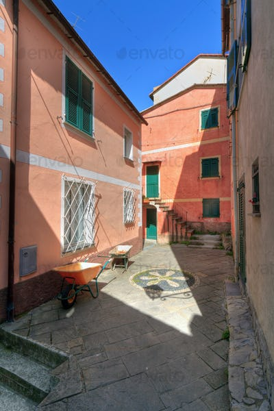 small square in Camogli