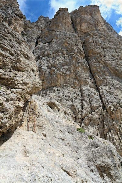 Catinaccio mount - via Ferrata