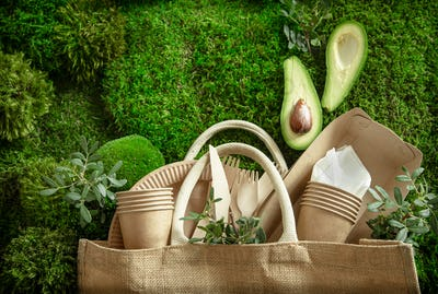 Eco-friendly, stylish, disposable, convenient, beautiful recyclable tableware.