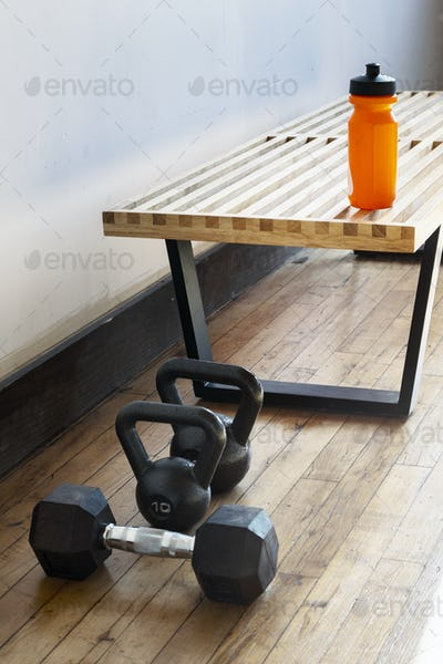 Equipment at a gym