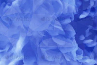 Blue fluid patterned background