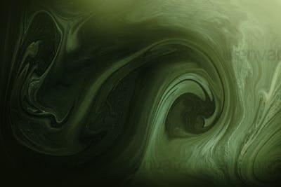 Dark green swirl patterned background