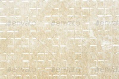 Grunge yellow tile patterned background illustration