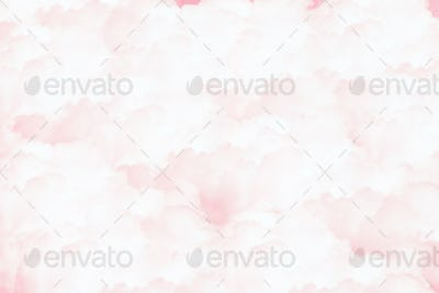 Pink watercolor textured background
