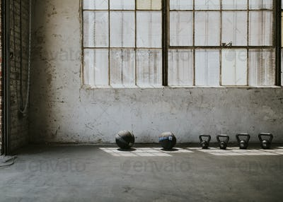 Industrial style gym