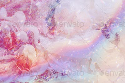 Colorful smoky abstract background