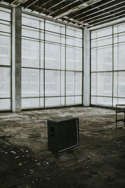 Grunge building interior