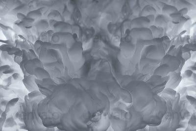 Abstract gray smoke background illustration