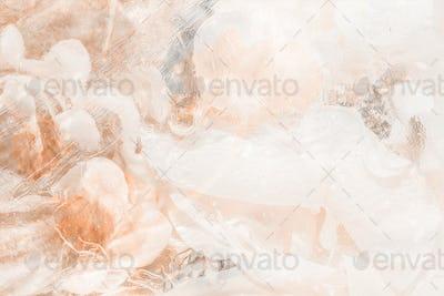 Light orange abstract smoky background