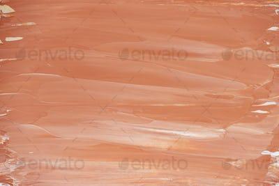 Bright orange brush stroke background