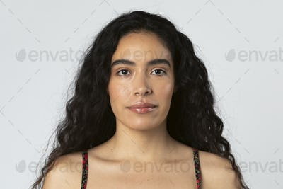 Portrait of a beautiful South American woman