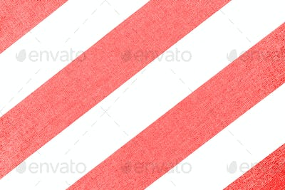 Striped fabric with textured background