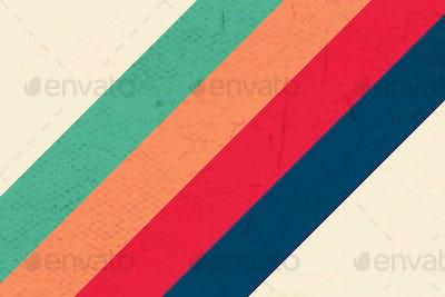Bold color stripes patterned background