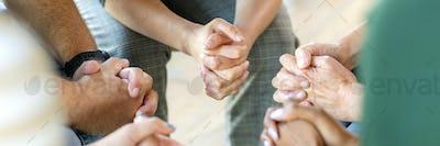Prayer group session