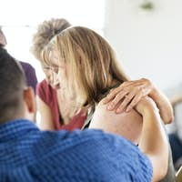 Sadness in support group