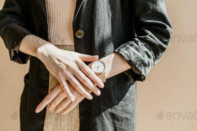 Wrist watch product shoot