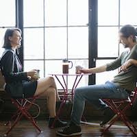 Blind coffee date