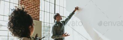 Presentation board mockup
