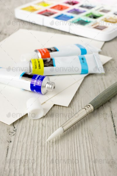 Artist's Painting Supplies