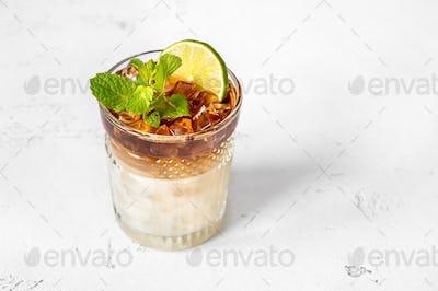 Glass of Mai Tai
