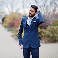 Stylish indian man