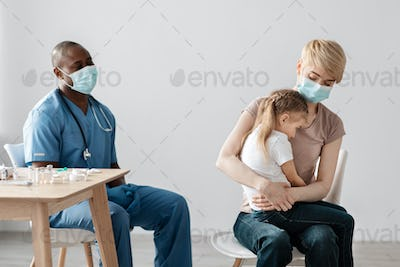 Medical, vaccination hypodermic injection, treatment disease in hospital, prevention and vaccination
