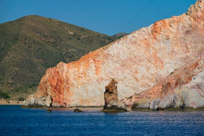 Rock formations in Aegean sea