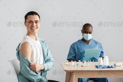 Fast and successful vaccination procedure, immunization campaign