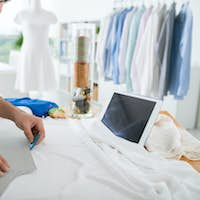 Tracing sewing pattern
